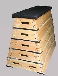 ארגז קפיצות 5 דיוטות עץ